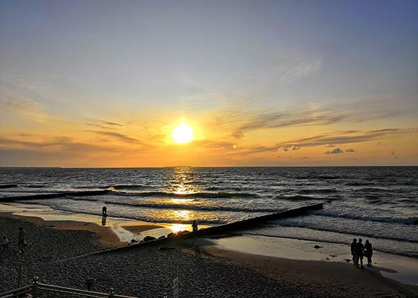 Закаты на Балтике бесподобны