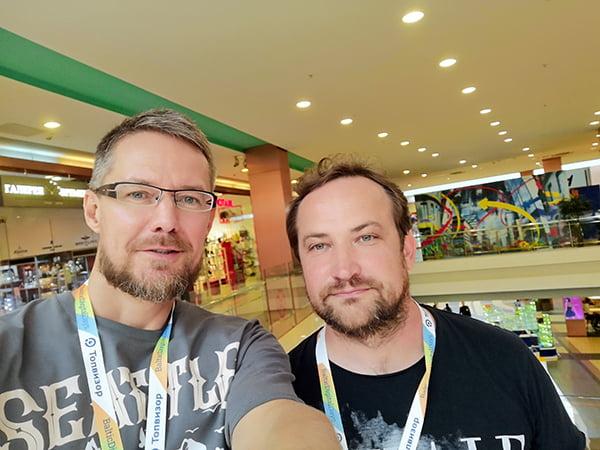 с Дмитрием Шаховым, организатором конференции
