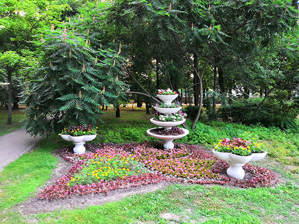 городской парк в Гомеле