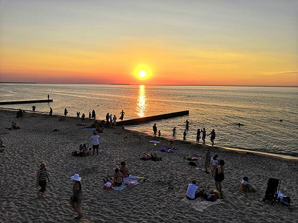 Закаты на Балтике