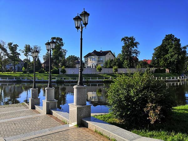 Верхний пруд в Калининграде